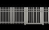 "RANKO Design-Zäune ""Garda"" Tore"