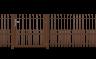 """RANKO Design-Zäune """"Garda"""""""